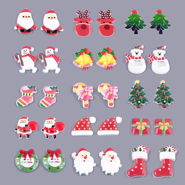 Christmas Tree Snowman Casual Dress – Multicolor