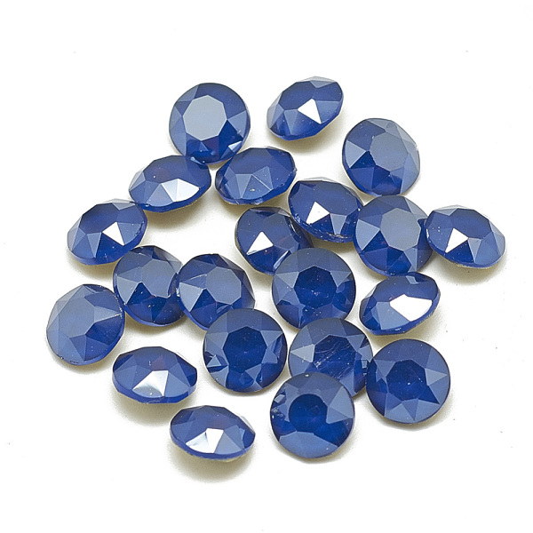PandaHall DIY Pointed Back K9 Glass Rhinestone Cabochons, Back Plated/Unplated(Random Single Color or Random Mixed Color), Faceted, Flat...