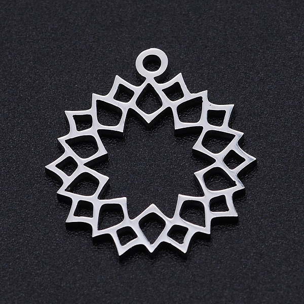 Stainless Steel Necklaces, Cross, Stainless Steel Color