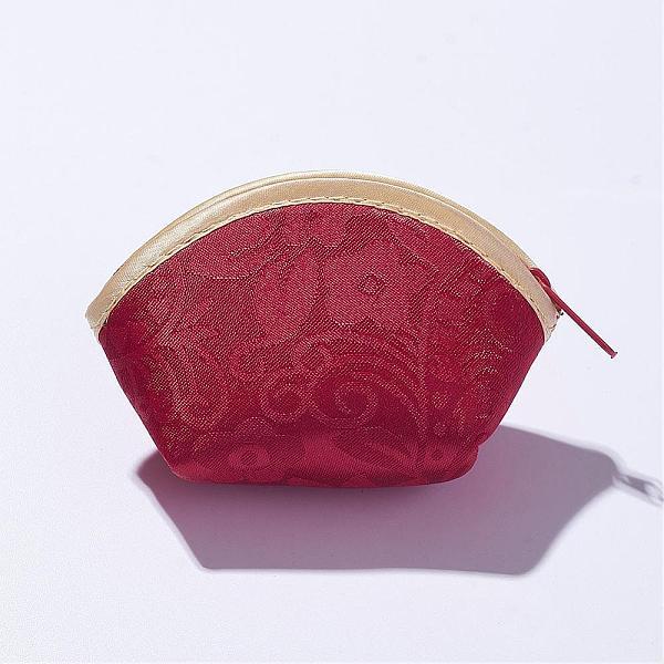 PandaHall Silk Purses, FireBrick, 9.7x6.3cm Silk Red (ABAG-D007) photo