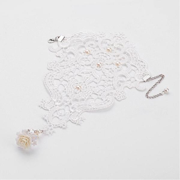 Halloween Lace Black Ring Bracelet