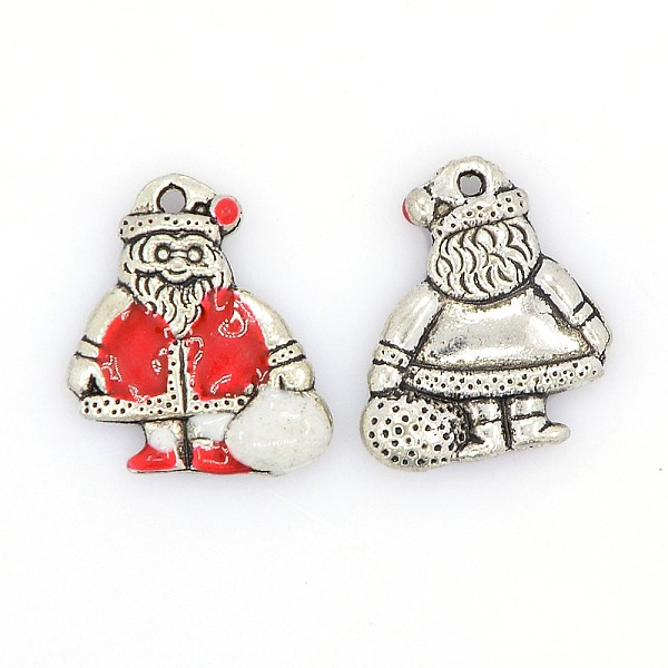 Christmas Santa Claus Chain Necklace and Hook